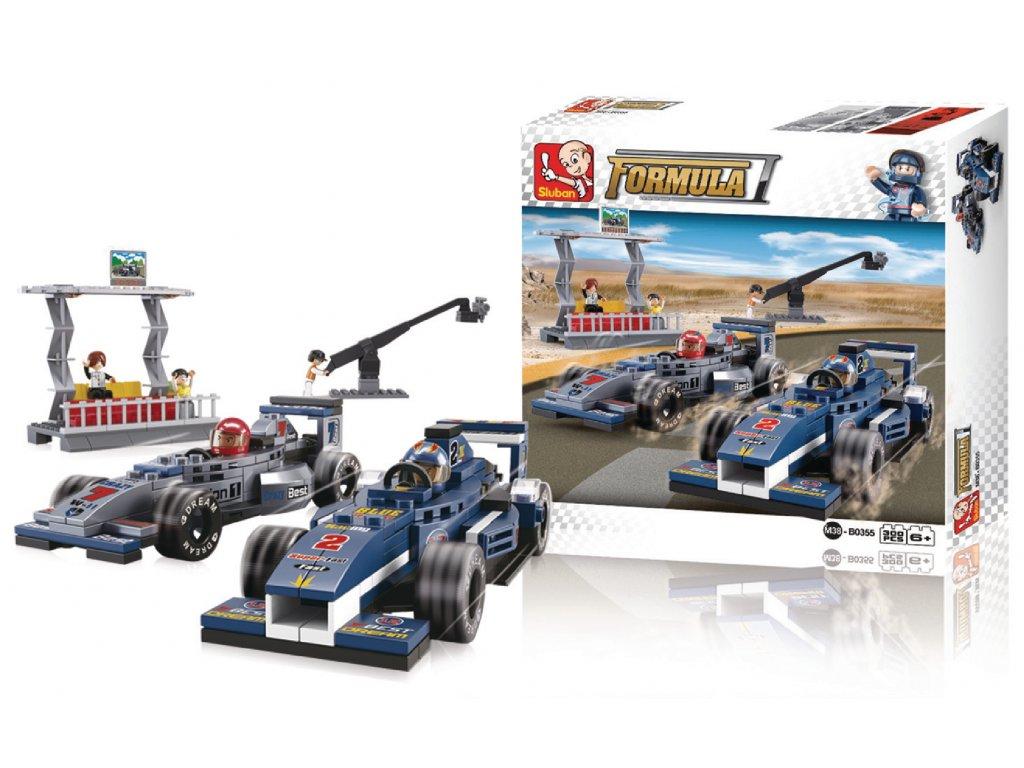Stavebnicové Kostky Formula 1 Serie F1 Grand Prix