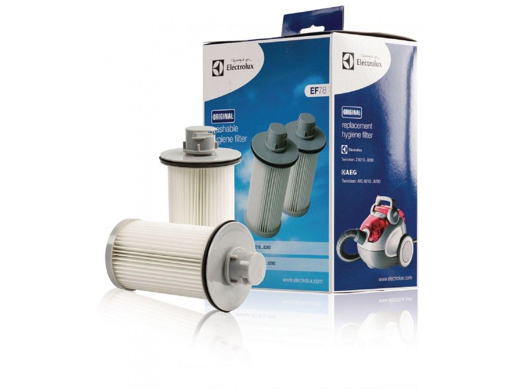 HEPA filtr pro vysavače AEG, Electrolux, 2ks Electrolux EF78 (W7-54427)