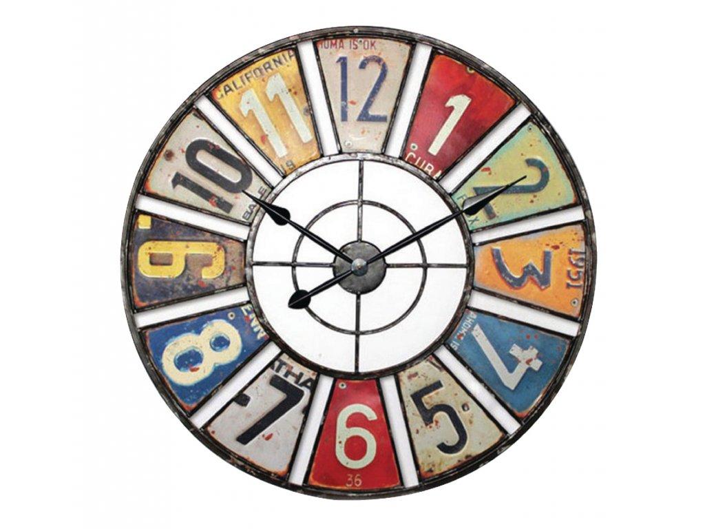 Retro analogové nástěnné hodiny 60 cm, Balance 306965