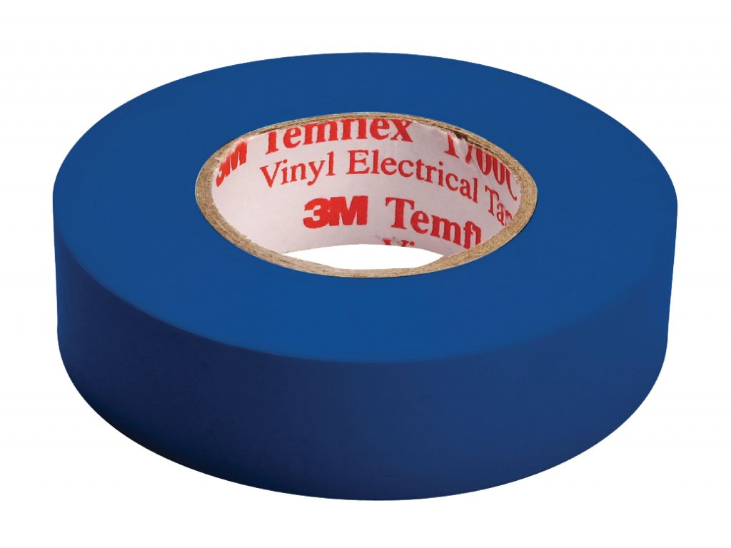 3M páska izolační 15mm x 10m - modrá (TAPE-BLUE/3M)