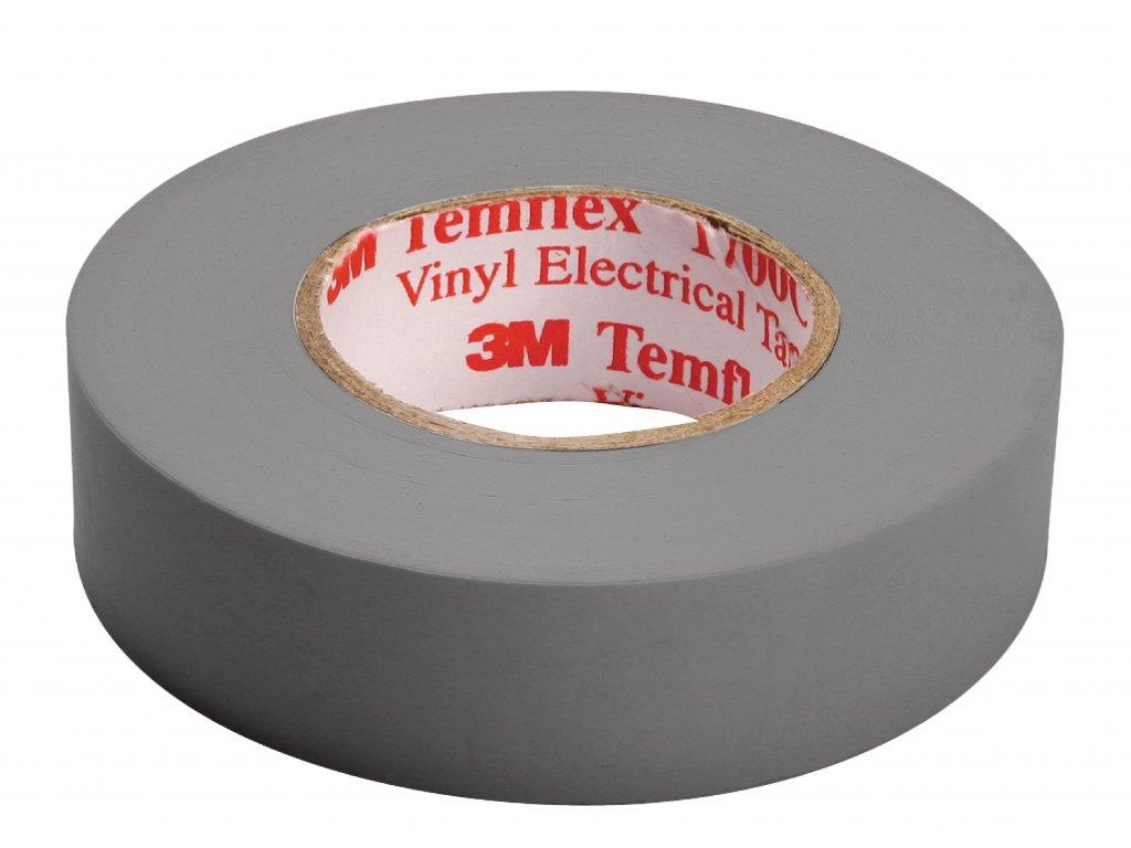 3M páska izolační 15mm x 10m - šedá (TAPE-GREY/3M)