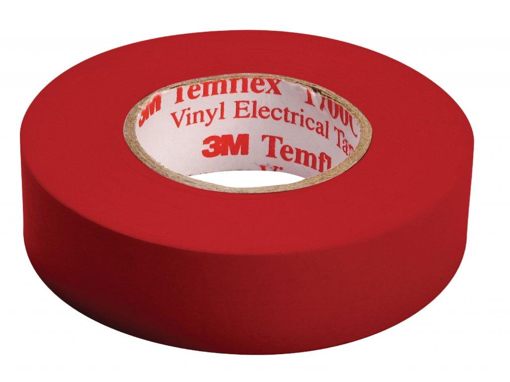 3M páska izolační 15mm x 10m - červená (TAPE-RED/3M)