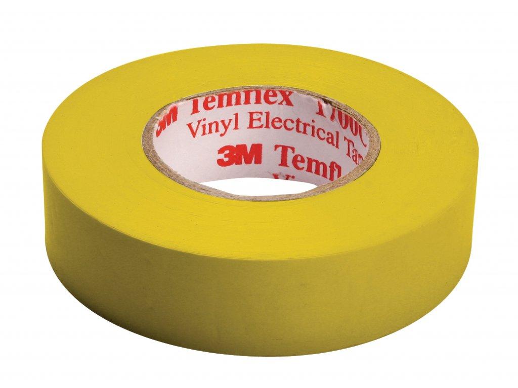 3M páska izolační 15mm x 10m - žlutá (TAPE-YELLOW/3M)