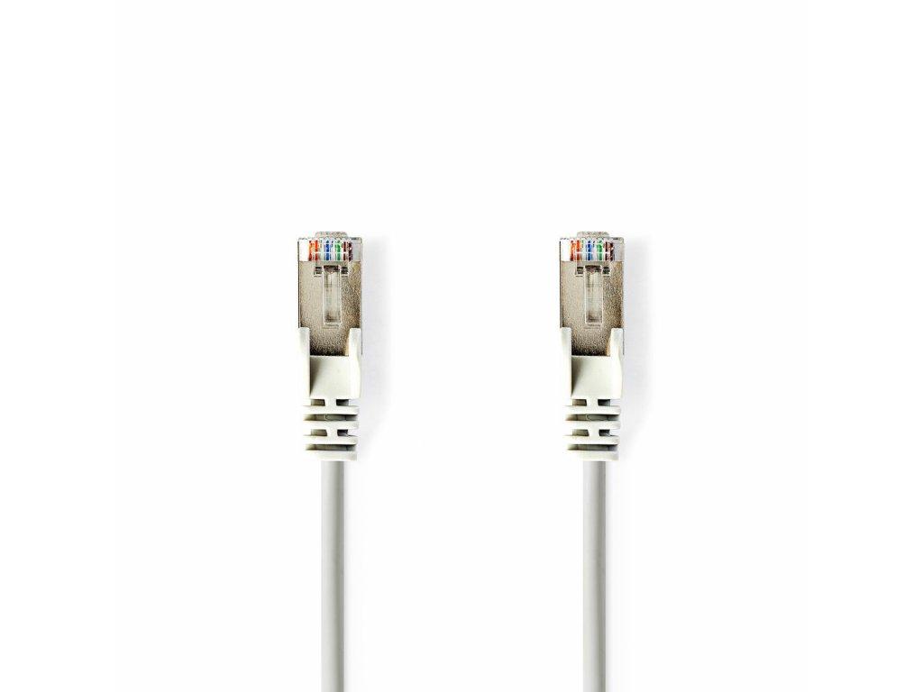 e957e398a ... Nedis síťový kabel F/UTP CAT5e, zástrčka RJ45 - zástrčka RJ45, 15 m