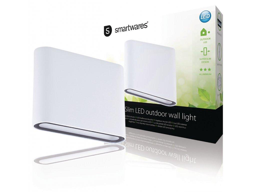 Venkovní nástěnné LED svítidlo 2x 4 W 260 lm Ranex Smartwares GWI-003-DH, RA-1004125