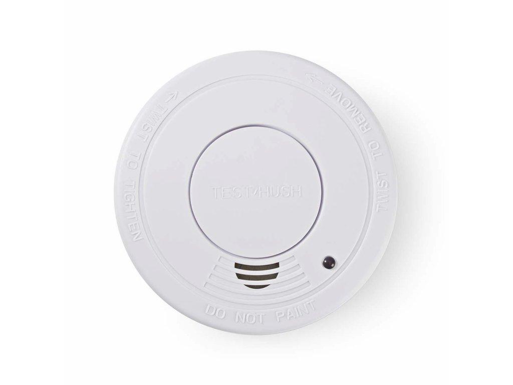 Nedis DTCTS30WT detektor kouře dle EN14604, 10 let životnost snímače