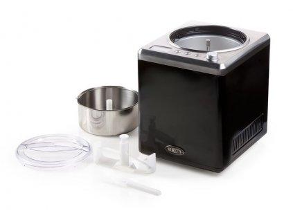 Exkluzivní zmrzlinovač s kompresorem - Boretti B100, černý