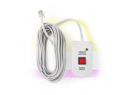 Dálkový ovladač pro měniče napětí Nedis® řady PIMS, délka kabelu 5 m (PIMSRC05WT)