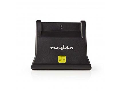 Nedis CRDRU2SM3BK čtečka eObčanky a čipových karet Smart Card USB 2.0