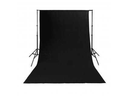 Nedis BDRP33BK fotopozadí, 2.95 × 2.95 m, černá