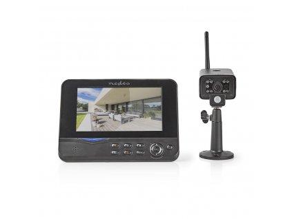 Nedis CSWL120CBK digitální bezdrátový kamerový systém 2.4 GHz