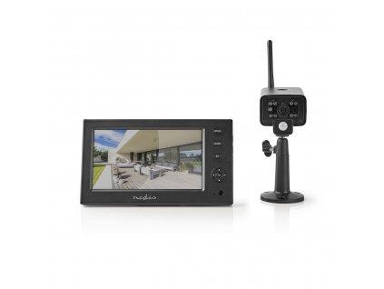 Nedis CSWL140CBK digitální bezdrátový kamerový systém 2.4 GHz
