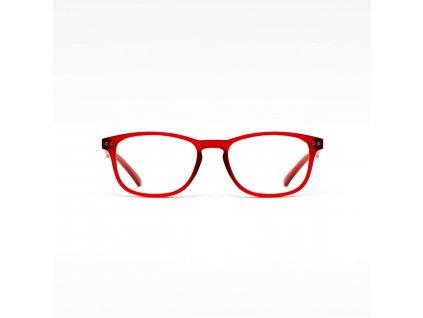 Z-ZOOM  brýle k PC redukující záření monitorů a LED displejů, dioptrie +0.0, barva matná bordó (ZZM-04150)