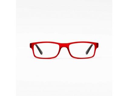 Z-ZOOM  brýle k PC redukující záření monitorů a LED displejů, dioptrie +0.0, barva matná bordó (ZZM-09030)
