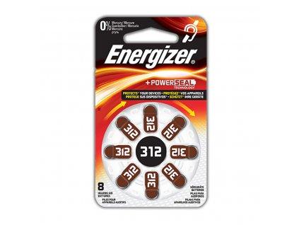 Energizer zinkovzduchová baterie PR41 1.4 V, 8 ks (EN-53542574100)