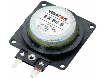 Elektrodynamický budič, 25 W 8 Ohm, Visaton VS-EX60S