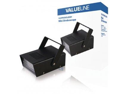 LED stroboskop pro discoefekty Valueline VLSTROBOLED01