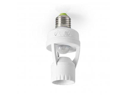 Nedis PIRFI60WT detektor pohybu s paticí E27, nastavitelný čas a okolní osvětlení