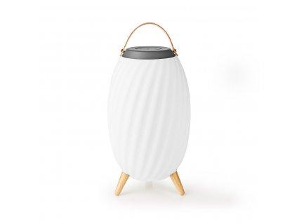 Nedis SPBT35805WT designová lampa a Bluetooth® reproduktor, 60 W, True Wireless Stereo (TWS), baterie až 6 hodin, voděodolný