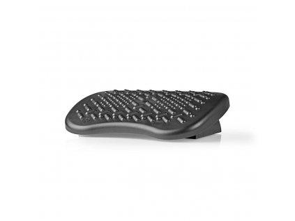 Nedis ERGOFR300BK ergonomická plastová podnožka, černá