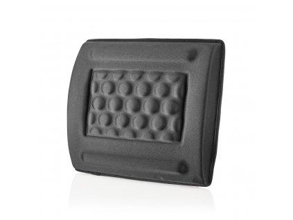 Nedis ERGOGBS100BK ergonomická gelová opěrka zad, černá