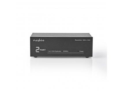 Nedis CSPL5902BK VGA rozbočovač 1 vstup na 4 výstupy