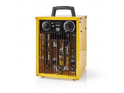 Nedis HTIF10FYW průmyslový teplovzdušný ventilátor 2000 W, žlutá