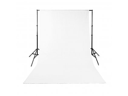 Nedis BDRP32WT fotopozadí, 1.90 × 2.95 m, bílá