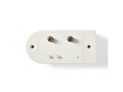 Nedis SAMP41112WT CATV zesilovač 86-1006 MHz, 28 dB s regulací zesílení, zp.kanál, 1 výstup