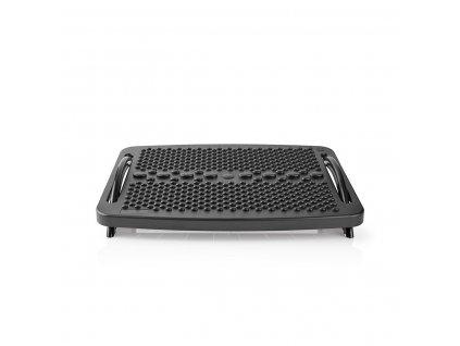 Nedis ERGOFR100BK ergonomická plastová podnožka, černá