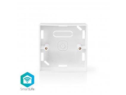 Nedis montážní krabička pro chytré vypínače SmartLife, 86 x 86 mm, bílá (WIFIWB10WT)