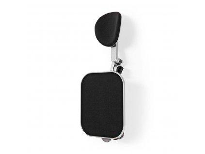 Nedis ERGOCAR100ME ergonomická opěrka paže, otočná, stolní, s podložkou pod myš, kovová