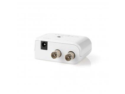 Nedis SAMP40020WT domovní zesilovač TV signálu 50 - 790 MHz, 15 dB, 2 výstupy