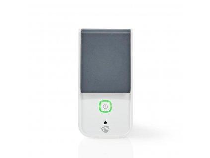 Nedis SmartLife chytrá venkovní zásuvka, monitor spotřeby, schuko, 16 A, IP44 (WIFIPO120FWT)