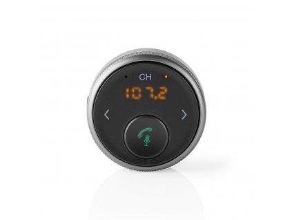 Nedis BTMA100BK FM transmitter / Bluetooth® / handsfree do auta / hlasové ovládání / microUSB / 5.5 hod. provoz