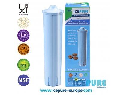 ICEPURE Jura Claris Blue vodní filtr pro kávovary Jura (CMF001)