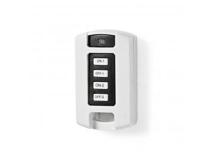 Nedis RFRC220WT bezdrátový dálkový ovladač, 2 kanály, RF 433.92 MHz