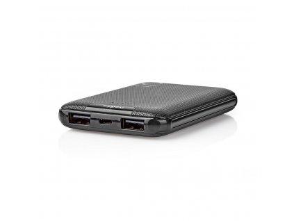Nedis UPBK5002BK powerbanka 5000 mAh, 2 x USB, černá