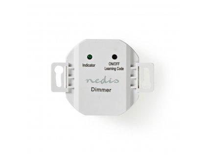 Nedis RFPSD110WT bezdrátový přijímač zap./vyp./stmívač do instalační krabice, 40-300W, RF 433.92 MHz