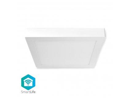 Nedis SmartLife chytré stropní LED světlo 30x30cm, 18W 1200lm, barevná+teplá-studená bílá (WIFILAC30WT)