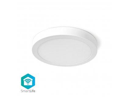 Nedis SmartLife chytré stropní LED světlo ø 30cm, 18W 1200lm, teplá-studená bílá (WIFILAW20WT)