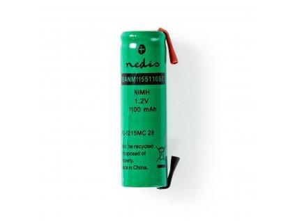 Akumulátor NiMH 1.2V/1100mAh, páskové vývody (BANM1155110SC)