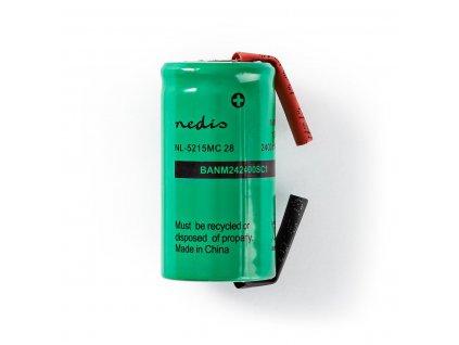 Akumulátor NiMH 1.2V/2400mAh, páskové vývody (BANM242400SC1)