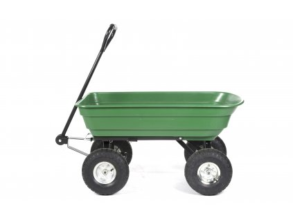 KINZO zahradní vozík objem 75l, nosnost max 200kg