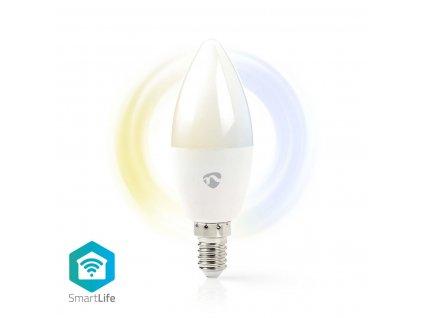 Nedis SmartLife chytrá LED žárovka E14 4.5W 350lm 2700 - 6500 K (WIFILW13WTE14)