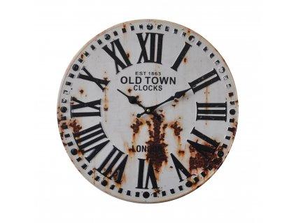 Retro analogové nástěnné hodiny 40 cm, Balance 596644