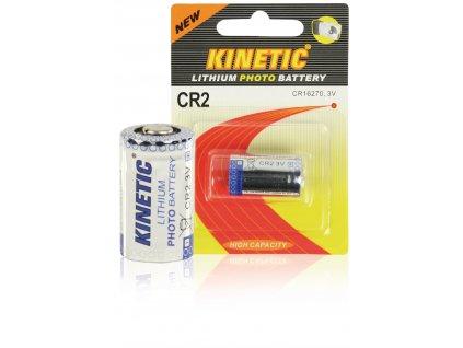 Lithiová baterie Kinetic CR2 3 V, 1ks, CR2
