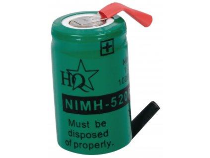 Akumulátor NiMH 1.2V/1000mAh, NIMH-520RS