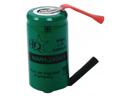 Akumulátor NiMH 1.2V/2400mAh, NIMH-2400/1