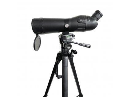 Nedis SCSP2000BK monokulár 20-60x60, zorné pole 38 m, oční reliéf 13, stativ 156 cm